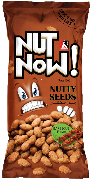 BARBEQUE NUTTY SEEDS<br/>18g*24 PCS